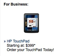 TouchPad for Biz