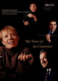 1997 Annual Report cover
