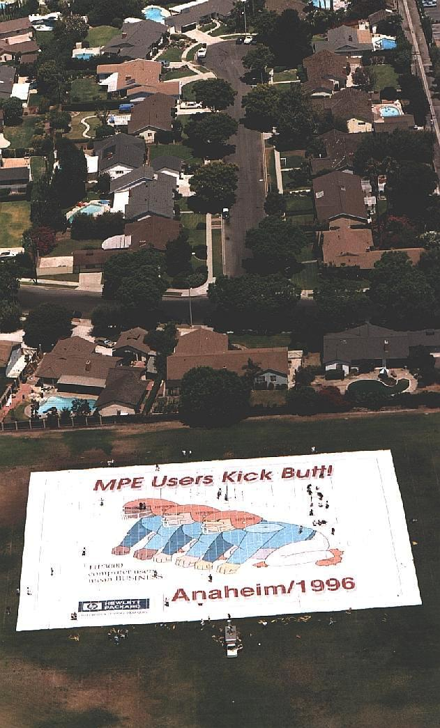 Poster and houses
