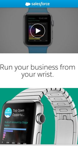 Salesforce Watch App