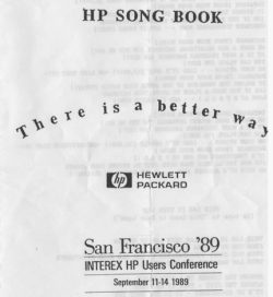HP Song Book cover