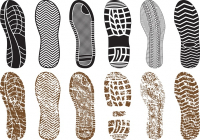 Various_shoe_print_vector_294583