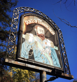 The Duke sign
