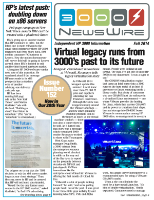 Fall 2014 Newswire front page