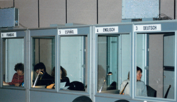 Amsterdam translation booths